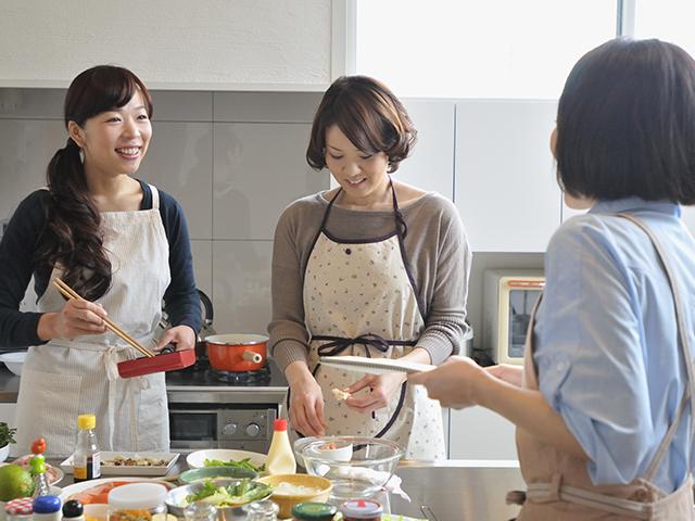料理教室やイベントの企画、運営、出演のイメージ